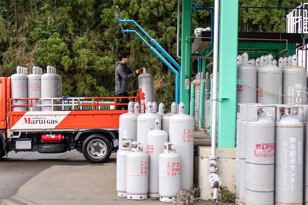 川根ガスのLPガス